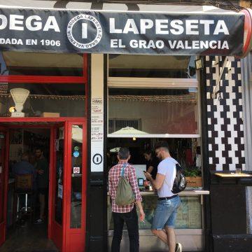 Street view of tapas bar